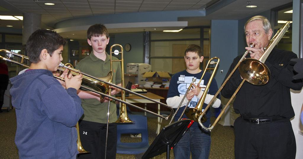 A trombone workshop