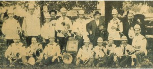 The original Manotick Village Band circa 1895
