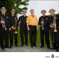 Manotick Brass Meets Canadian Prime Minister