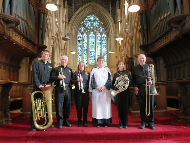 Manotick Brass with Cathedral Organist Sharon Whalen